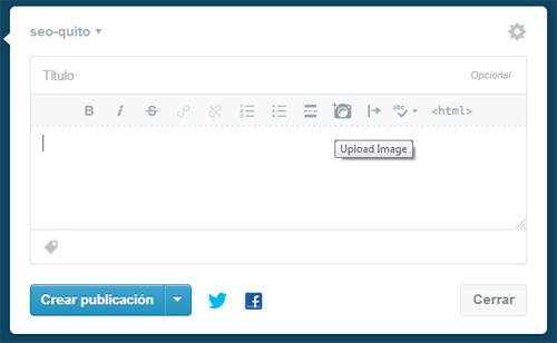 Tumblr y la etiqueta alt para imágenes