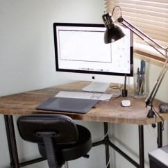 Drafting Table Chair Height Folding Quad Menards Kimmy Design Blog - K's Industrial Diy Pub Corner Desk