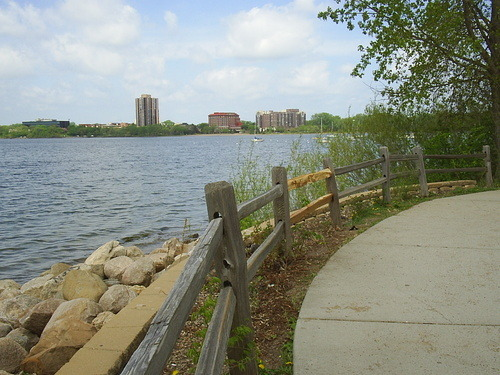 Lake Path in Minneapolis - John Barlow