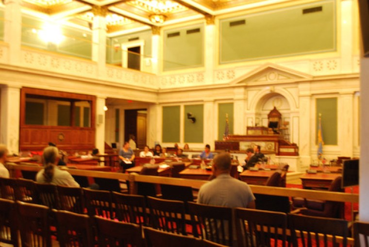 The VPRC holds its monthly meeting at City Hall caucus room 400. Old Philadelphia bureaucracy.