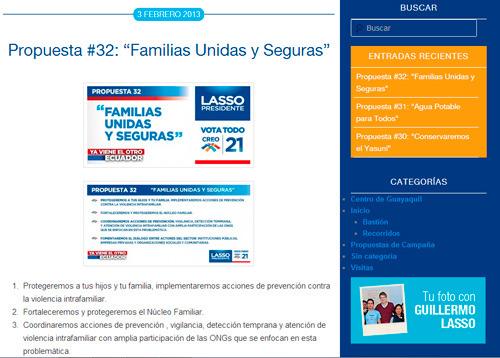 Blog de Guillermo Lasso