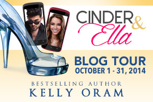 Cinder & Ella by Kelly Oram Blog Tour banner