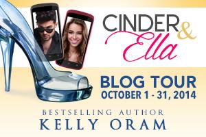 Cinder & Ella by Kelly Oram Blog Tour banner