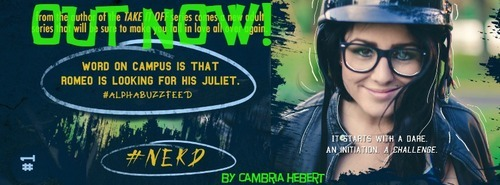 #Nerd out now banner