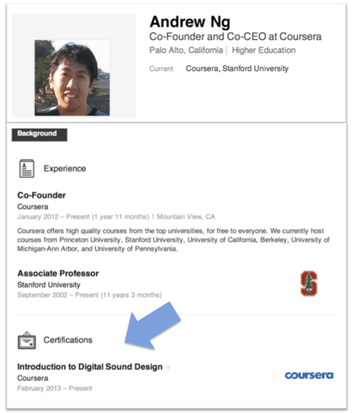 Coursera Blog • Add Coursera Accomplishments To Your