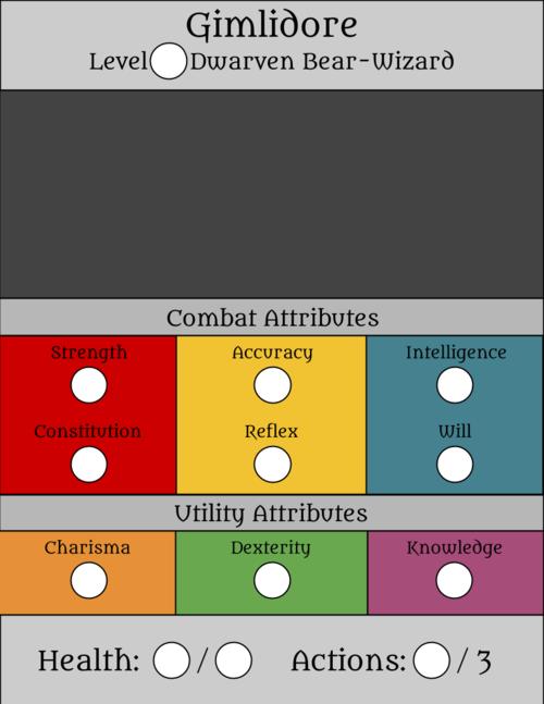 Gimlidore Character Sheet