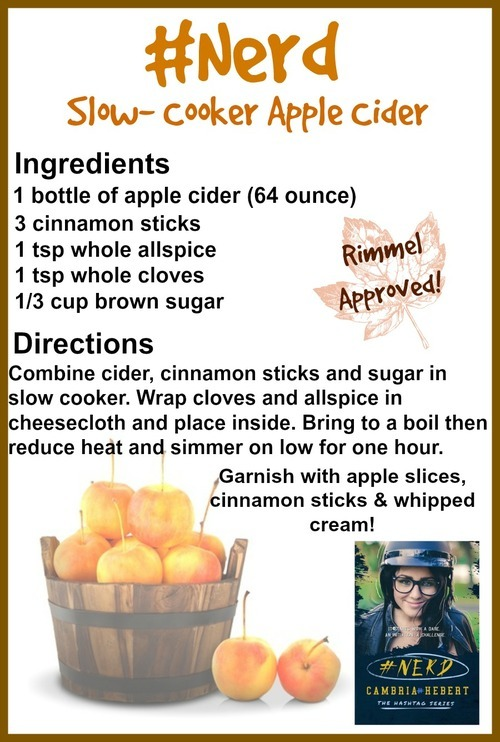 #Nerd Apple cider recipe