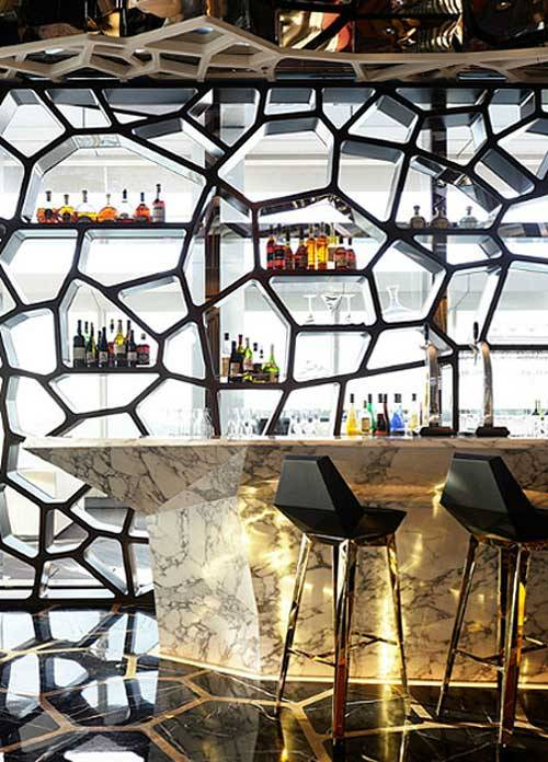Home Bar Ideas From Hong Kong Hotel  Hidden Sky