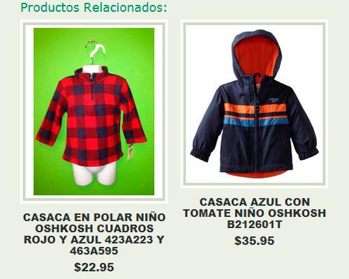 artículos relacionados en un online shop