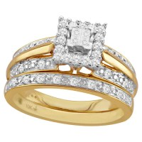 Bridal Sets: Walmart 10k Yellow Gold Bridal Sets