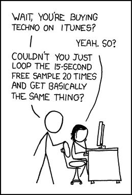 xkcd - A webcomic of romance, sarcasm, math, and language - By Randall Munroe