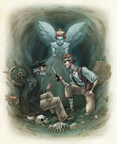 ANGELINE: The mariners revenge song