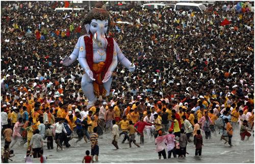 Ganapati leader of the Ganas