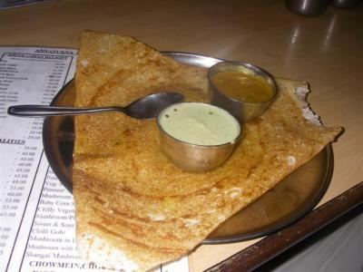 South Indian Dosas