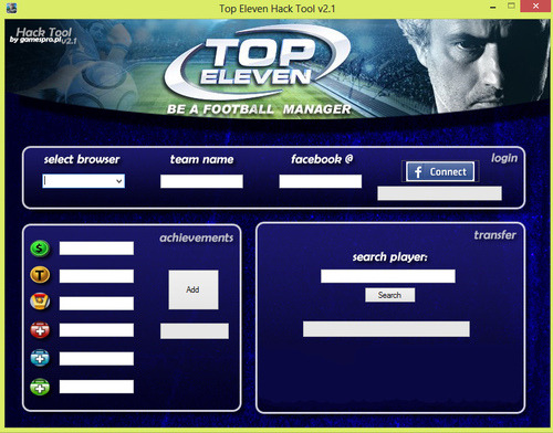 Top Eleven Hack android