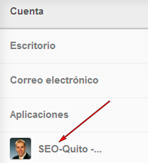 tumblr: abre los settings de tu blog
