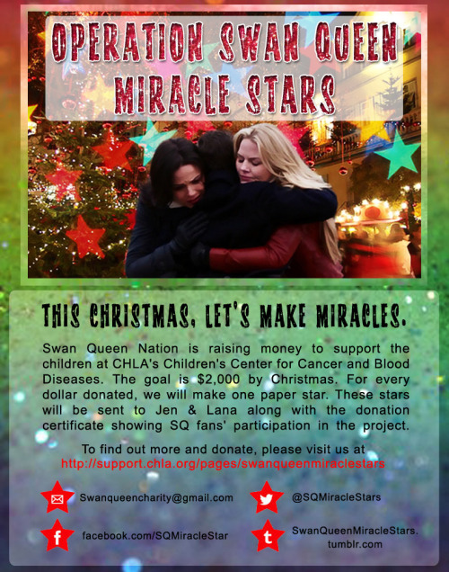 SwanQueen Miracle Stars