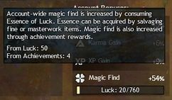 Account-wide Magic Find