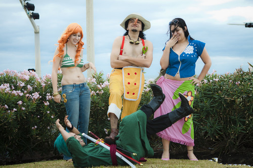 One Piece group cosplay