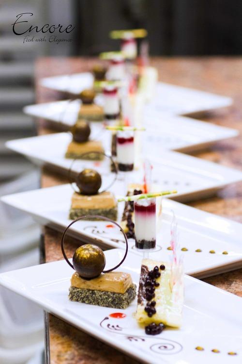 The Basics Dessert Decoration Encore Catering