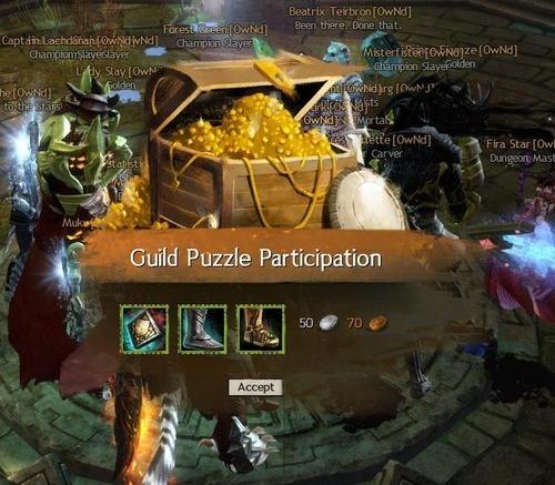 Guild Puzzle Participation