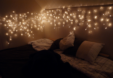Bedroom String Lights Tumblr