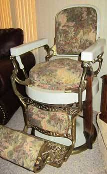 1800 koken barber chair big and tall outdoor chairs antique