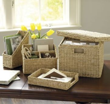 Ballard Design File Storage Basket For Less The