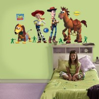toy story wall decals 2017 - Grasscloth Wallpaper