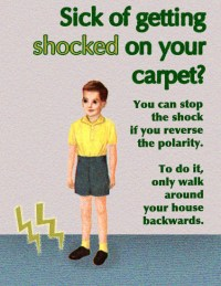 Fake Science (Sick of Getting Shocked On Your Carpet?)