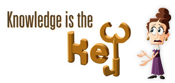Knowledge is the Key Mission Logo