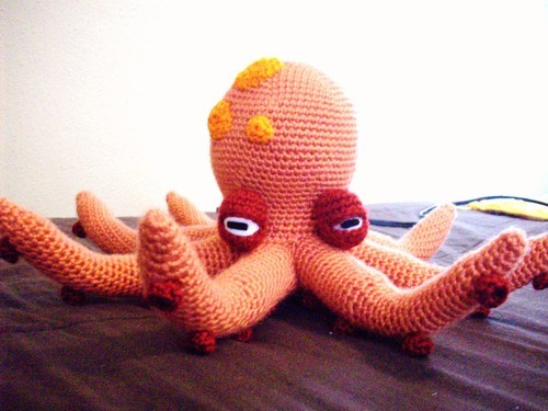 Awesome Crochet Octopuses | 375x500