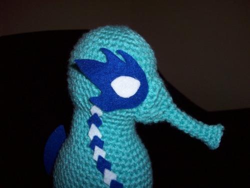 free amigurumi seahorse 4