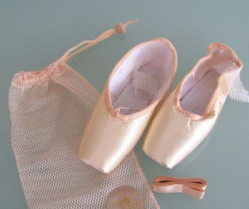 Various Sizes. Brand New Gamba Pink 97 Pointe Shoes