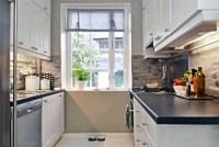 Gray, white, beige kitchen   Scandinavian Kitchens and Design