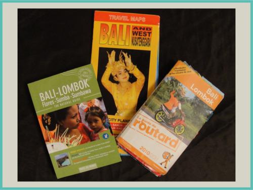 guides et carte bali
