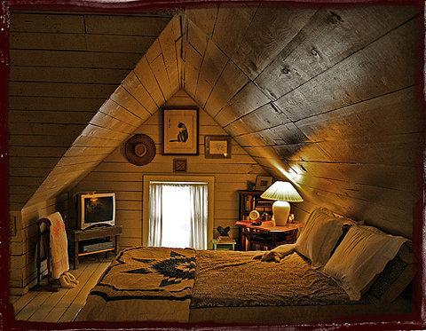 Cute  Cozy Attic Bedrooms