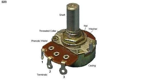 Diagram Of Potentiometer And Rheostat In A Circuit