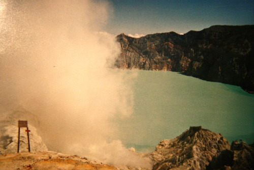 volcan Kawah Ijen à Java