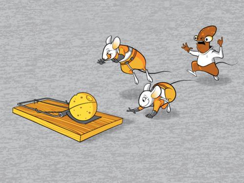 It's a (mouse)trap!