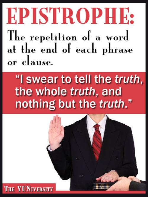 ABC Rhetoric Epistrophe