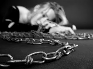 Image result for woman  in chains