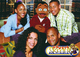 Good with the cast of Cousin Skeeter. She played Nina in the 90s sitcom.