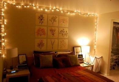 Curtain Lights Bedroom