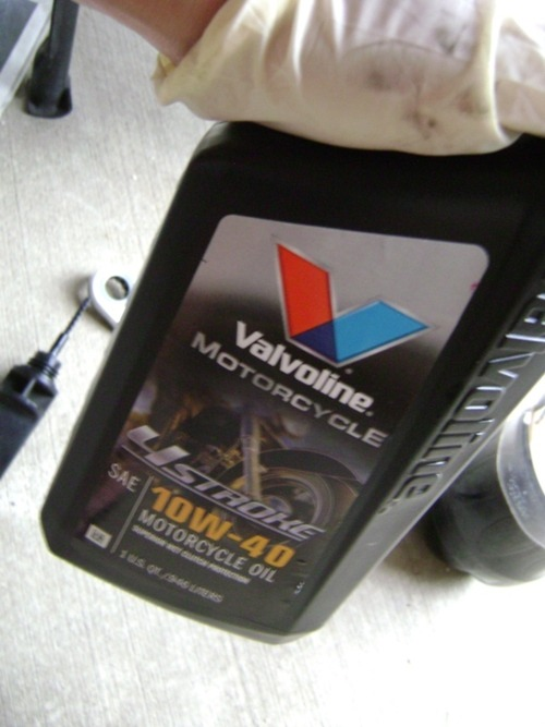 How to: Kymco People S200 Oil Change | lansia does blog