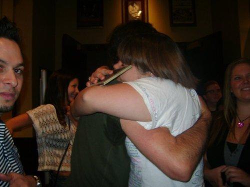 Leah hug