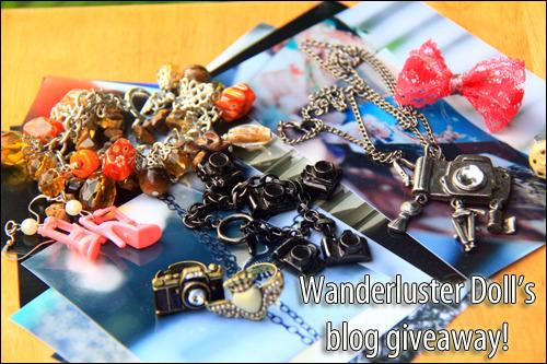 Wanderluster Doll's Blog Giveaway