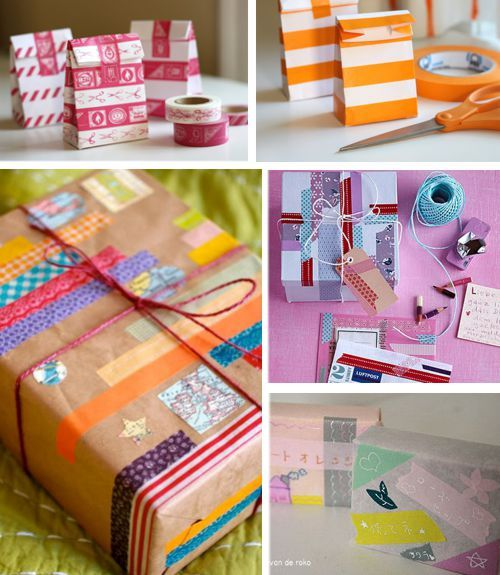 Envolturas de regalos con washi tape 2 my blog - Envolturas de regalos ...