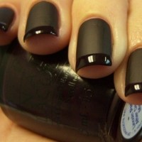 Nail Obsession - Black Matte Nails