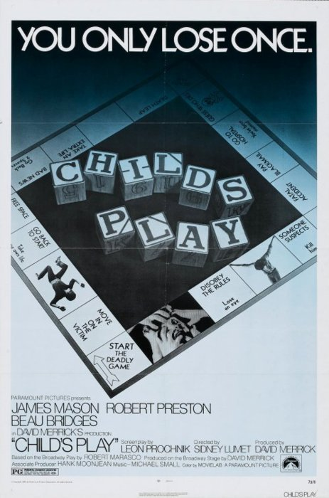 Child's Play (1972) poster